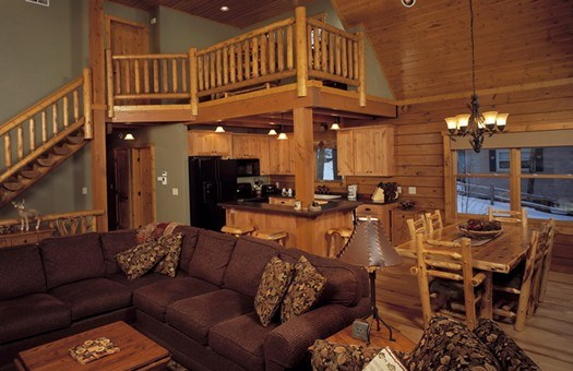 Interiors | Midwest Log Home Services